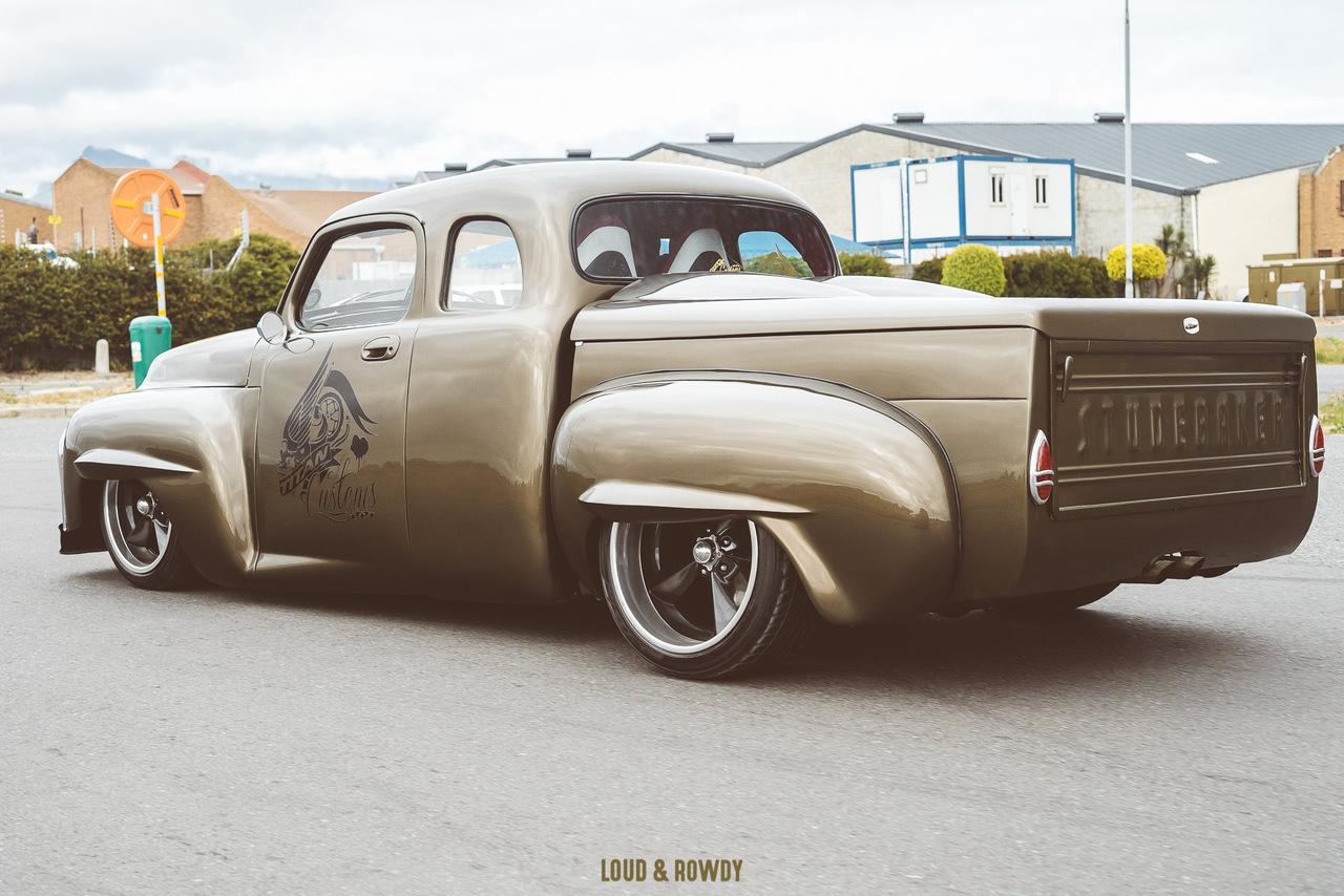 '56 Studebaker - Le bestiau de chez Titan Customs 34