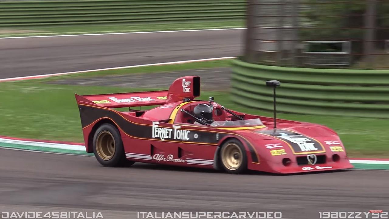 Engine Sound : Alfa Romeo 33 SC 12 - Brut de Pomme ! 16