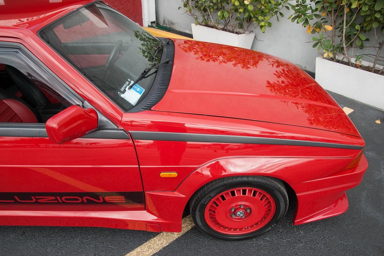 Alfa 75 Evoluzione - Tutta Rossa... Veramente Italiana ! 23