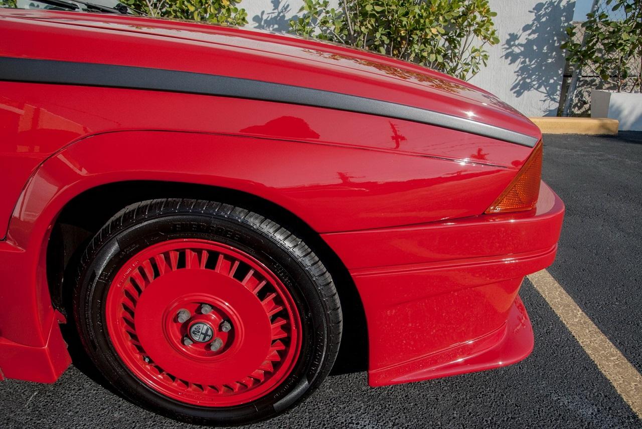 Alfa 75 Evoluzione - Tutta Rossa... Veramente Italiana ! 22