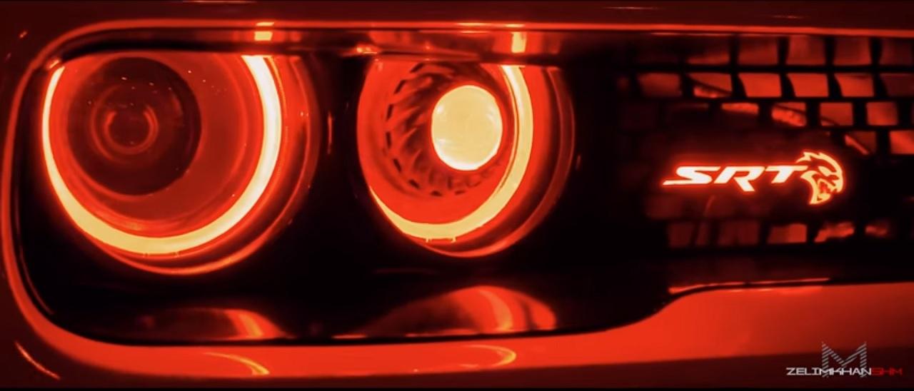 Dodge Challenger Hellcat LB Works - Ça va saigner ! 9