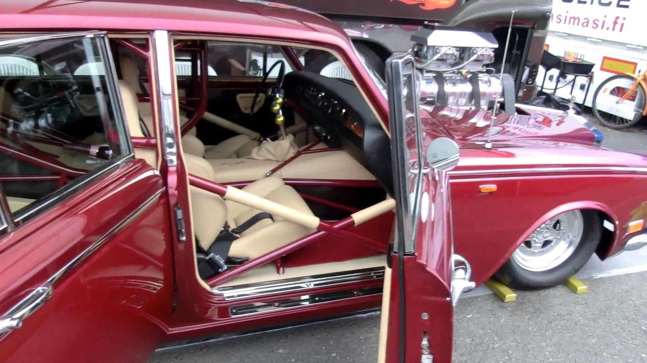 Rolls Royce Silver Shadow Drag - Quand tu n'arrives pas à choisir ton style... 2