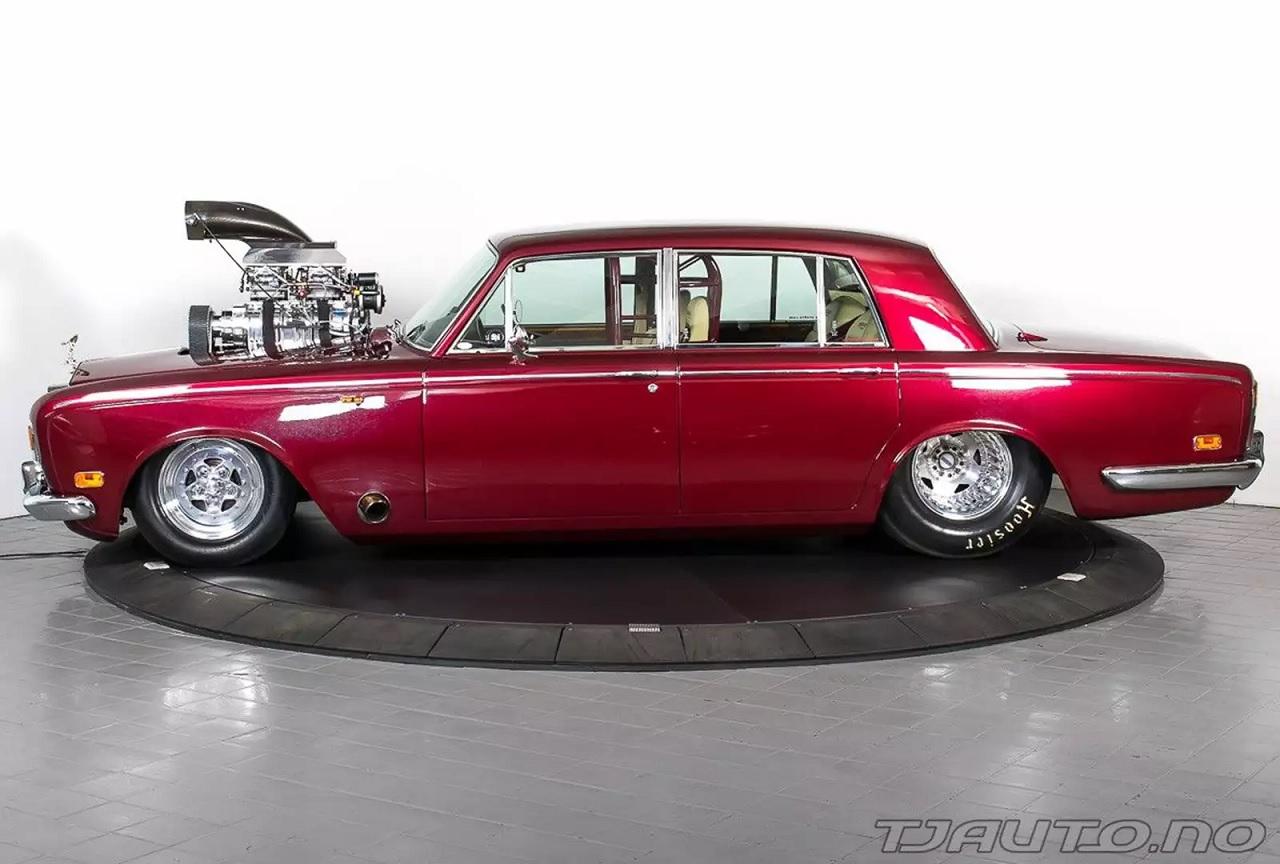 Rolls Royce Silver Shadow Drag - Quand tu n'arrives pas à choisir ton style... 1