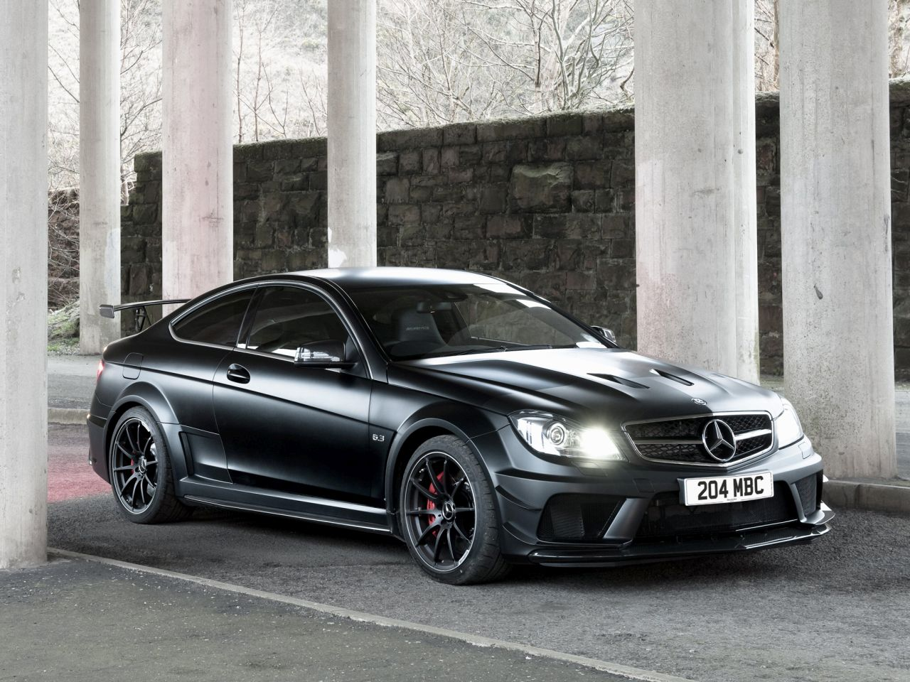 Engine Sound - Mercedes C63 AMG Black Series : Casser la voix 31
