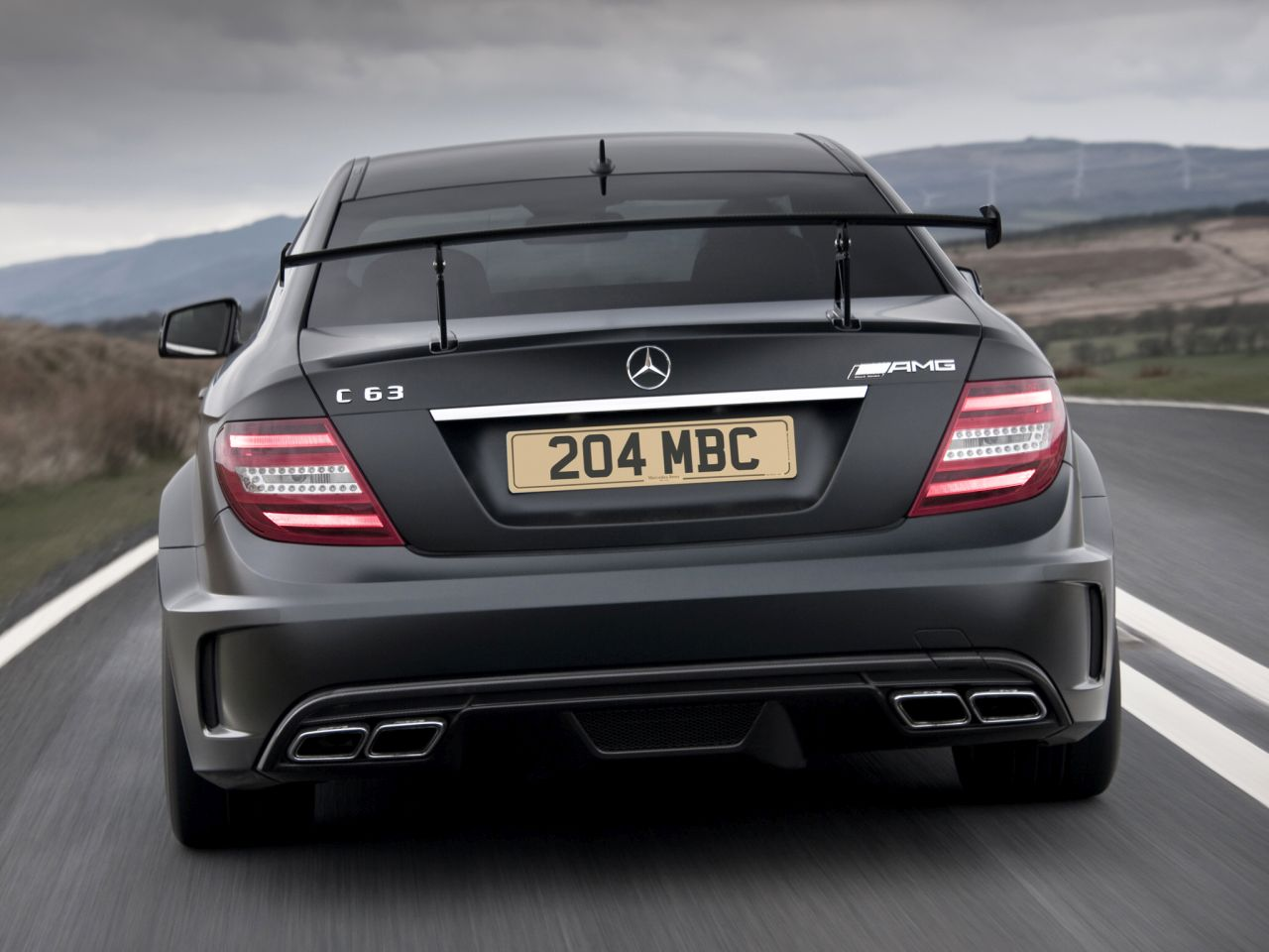 Engine Sound - Mercedes C63 AMG Black Series : Casser la voix 32