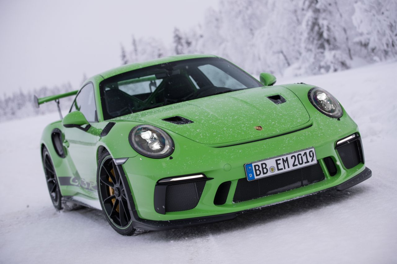 Porsche 911 GT3 RS - Patinage flatsistique 18
