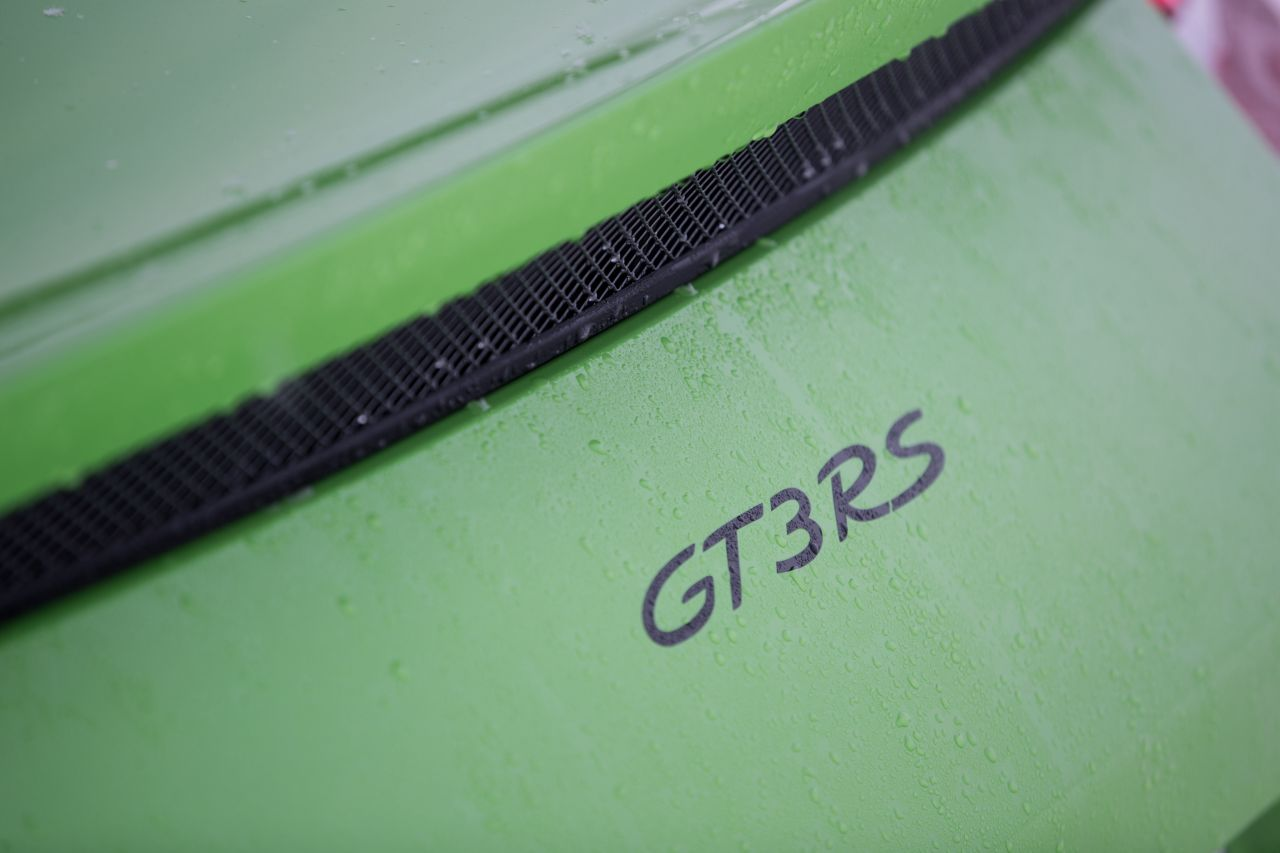 Porsche 911 GT3 RS - Patinage flatsistique 19