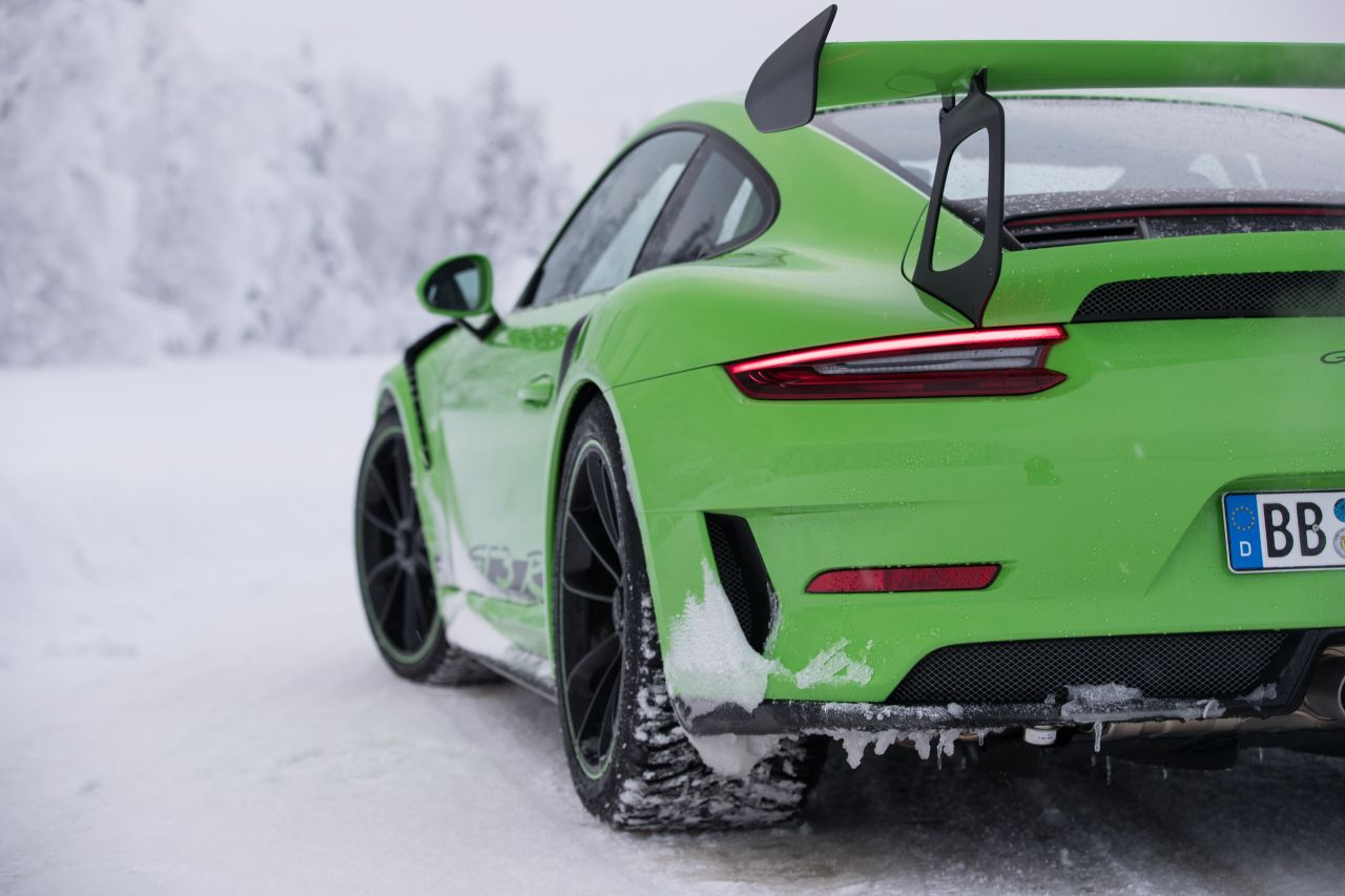 Porsche 911 GT3 RS - Patinage flatsistique 21