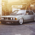 Bagged BMW 733i E23 – Youngtim'air !