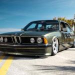 Bagged BMW 735i E23... Drogue d'air !