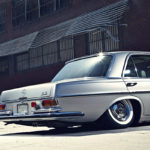 Bagged Mercedes 280 SE W108 - Pairfect !