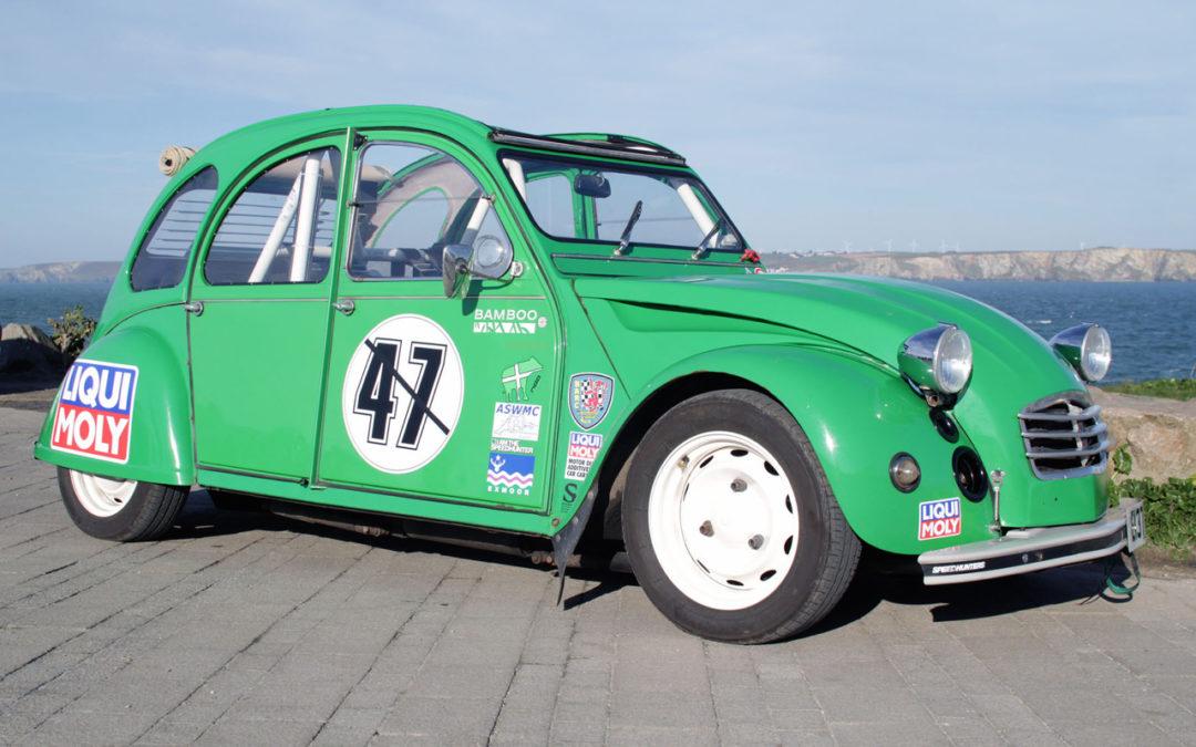 Hillclimb Monster : 2CV en BMW R1100GS ! La tôle qui vibre…