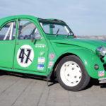 Hillclimb Monster : 2CV en BMW R1100GS ! La tôle qui vibre...