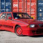 Alfa 75 Evoluzione - Tutta Rossa... Veramente Italiana !