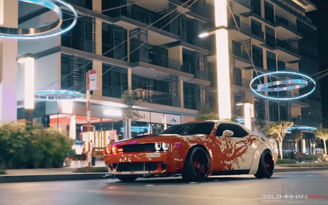 Dodge Challenger Hellcat LB Works – Ça va saigner !