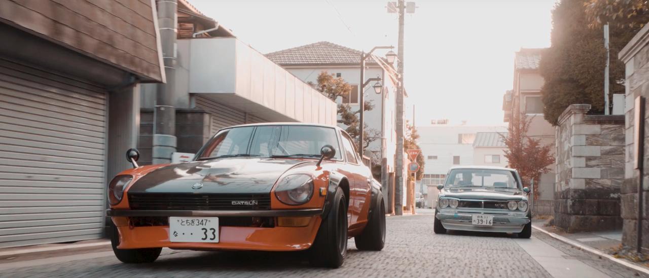 Datsun 240Z & Nissan Hakosuka... Sortez les Kleenex ! 19