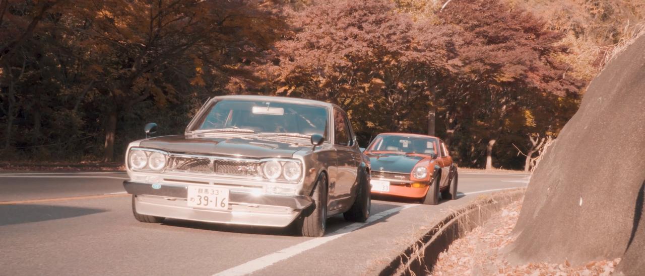 Datsun 240Z & Nissan Hakosuka... Sortez les Kleenex ! 22