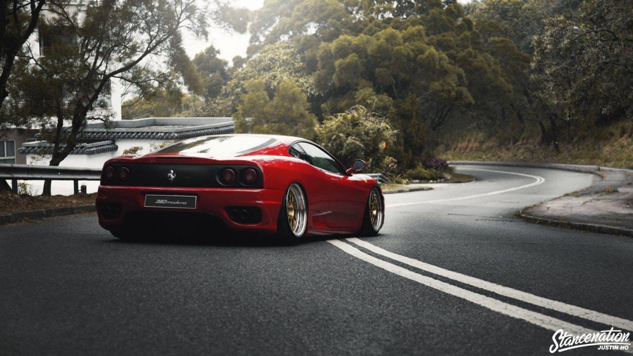 Ferrari 360 Modena F1 Airlift... Parce que c'est mieux que le static ! 15