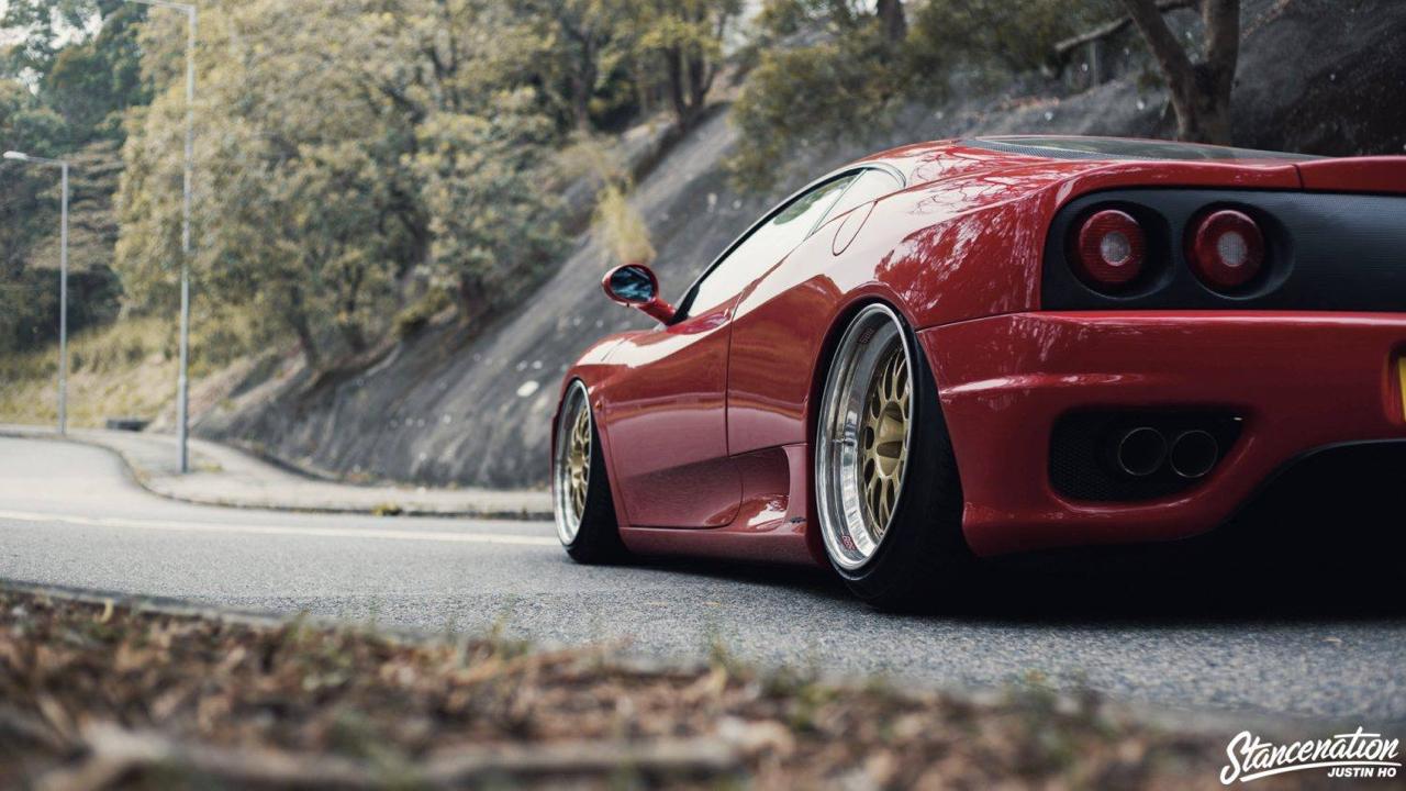Ferrari 360 Modena F1 Airlift... Parce que c'est mieux que le static ! 11