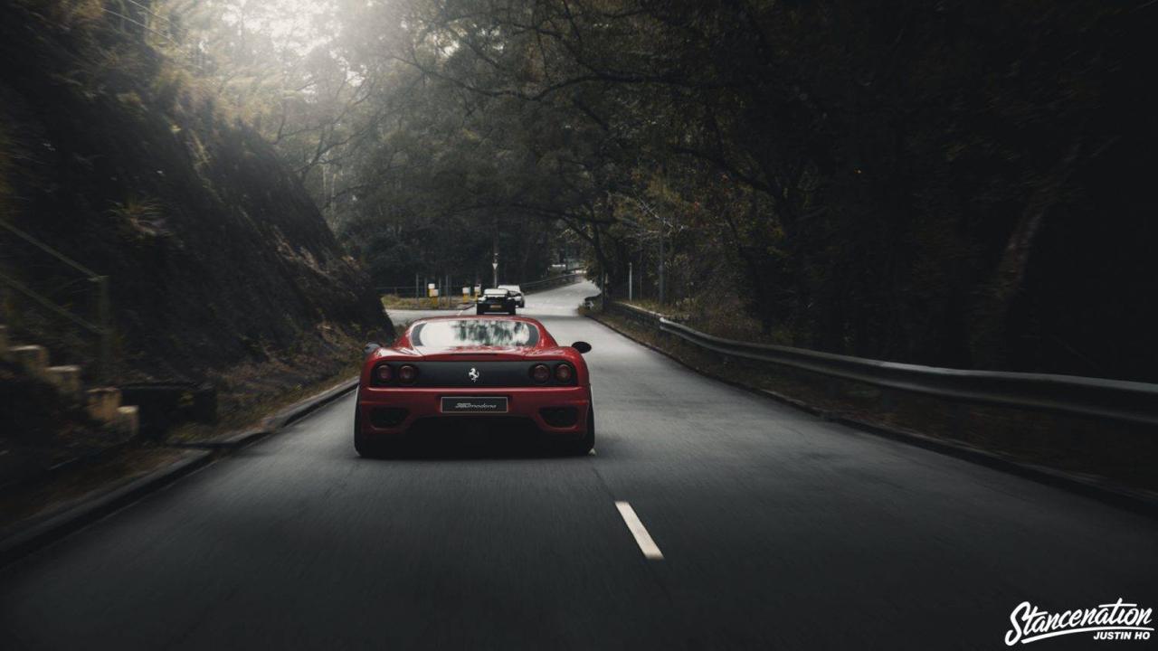Ferrari 360 Modena F1 Airlift... Parce que c'est mieux que le static ! 8
