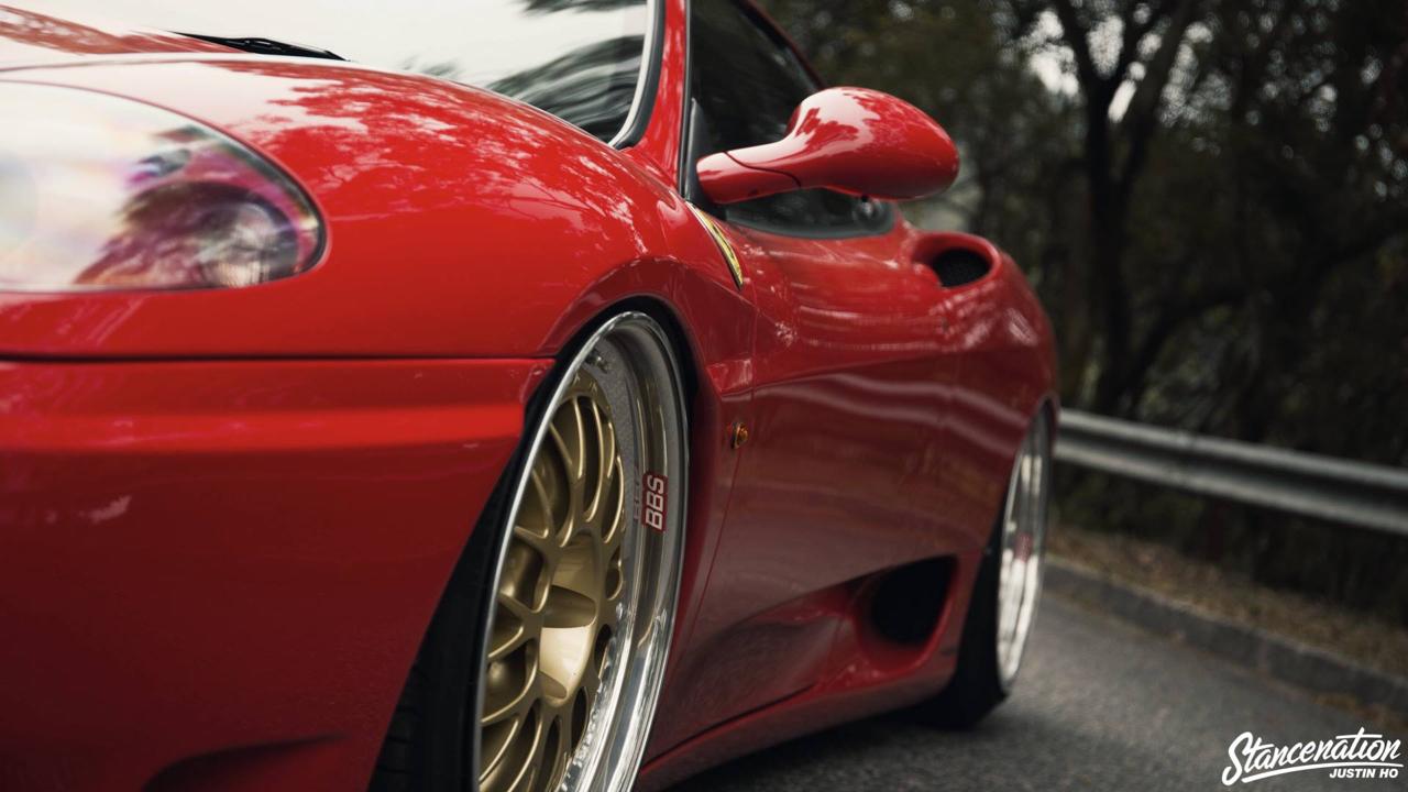 Ferrari 360 Modena F1 Airlift... Parce que c'est mieux que le static ! 4