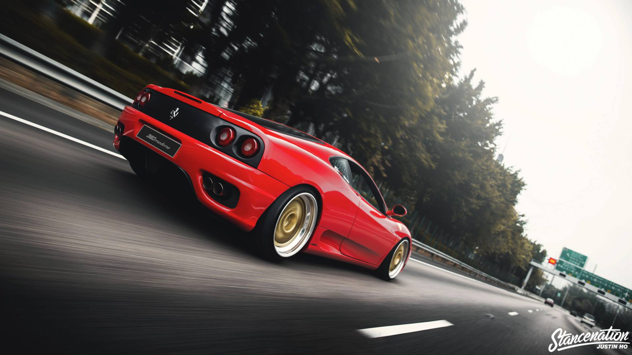 Ferrari 360 Modena F1 Airlift... Parce que c'est mieux que le static ! 2