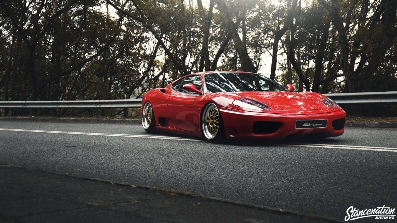 Ferrari 360 Modena F1 Airlift... Parce que c'est mieux que le static ! 1
