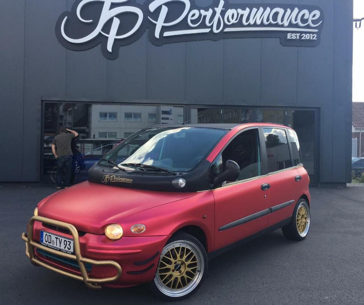 Fiat Multipla... La meilleure caisse du monde ?! 40