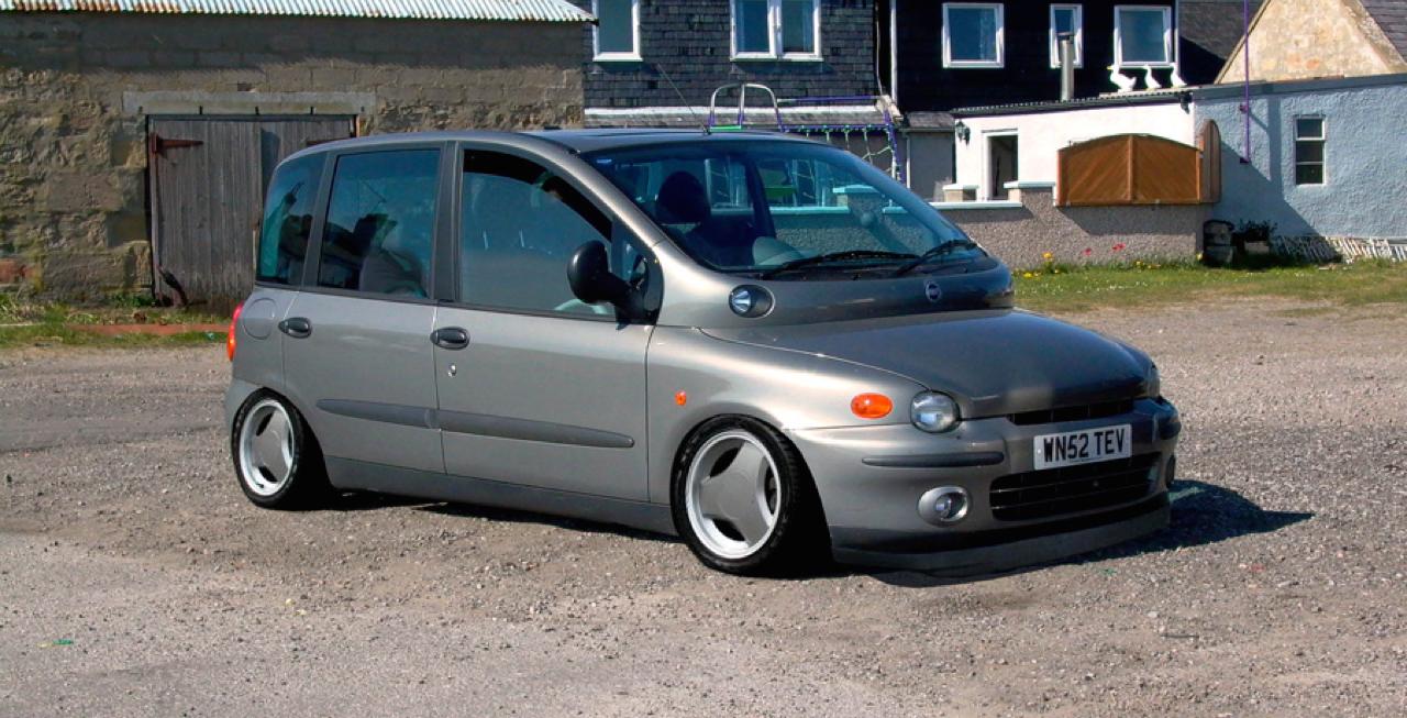 Fiat Multipla... La meilleure caisse du monde ?! 43