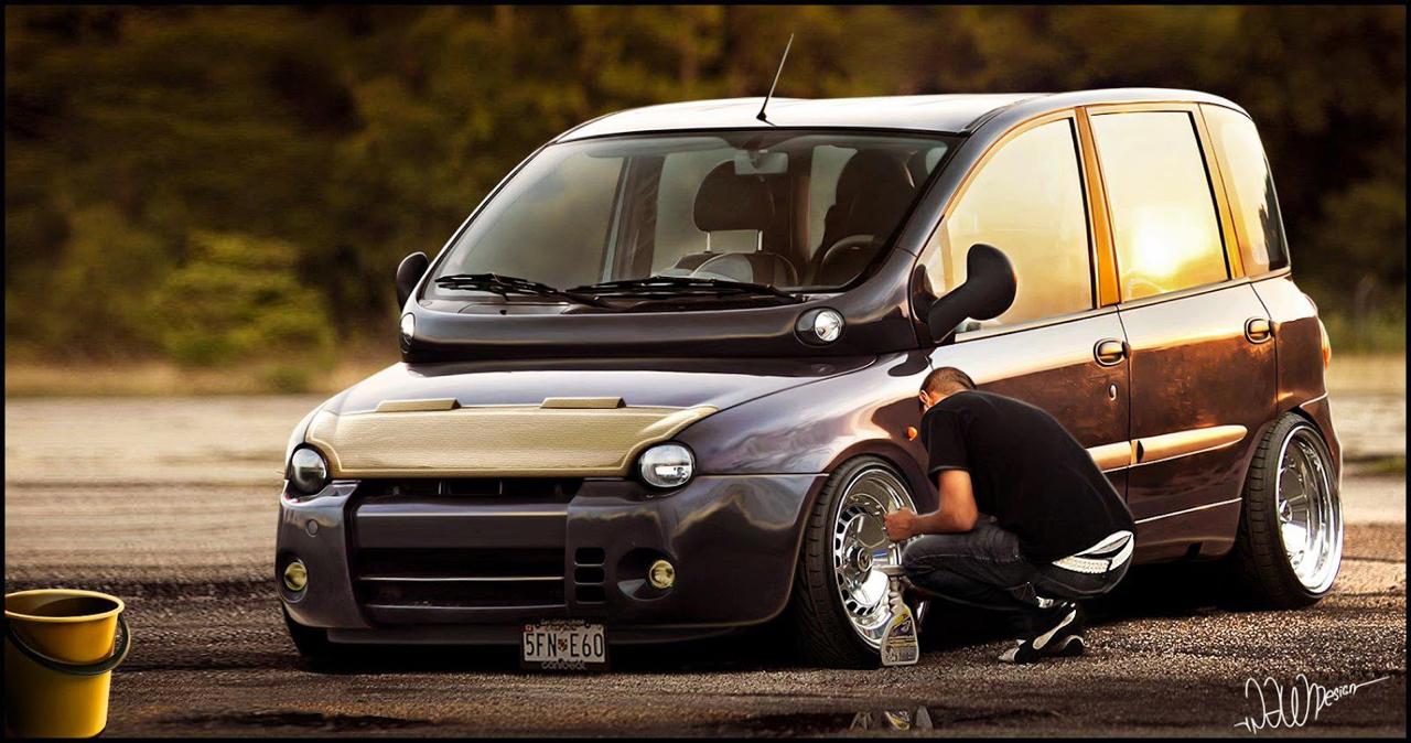 Fiat Multipla... La meilleure caisse du monde ?! 47