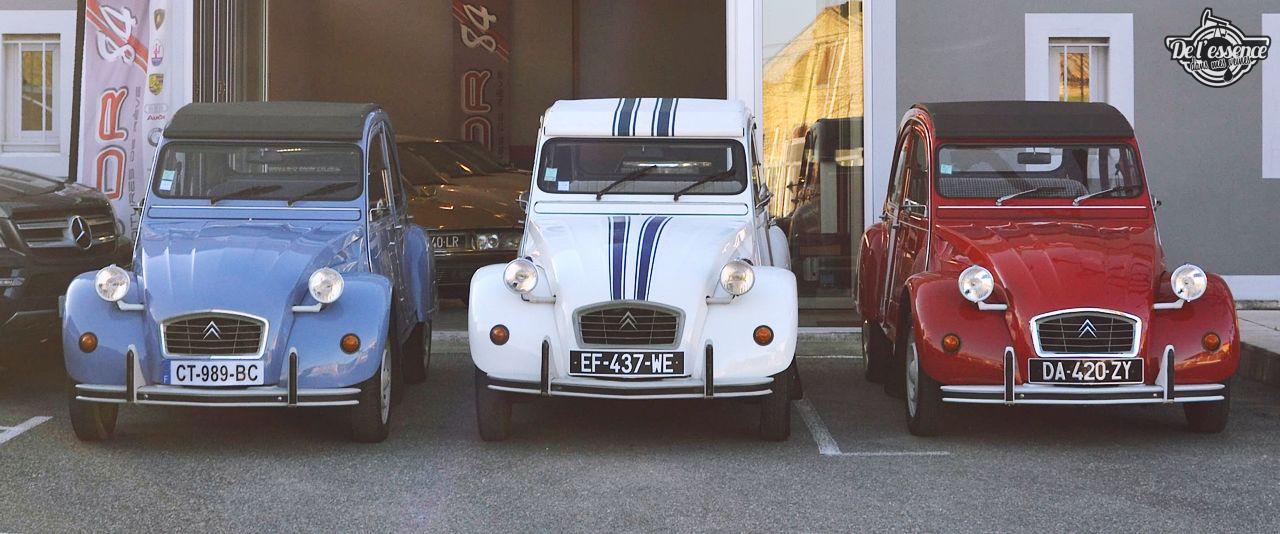 Citroen 2CV... Bleu blanc rouge ! 28