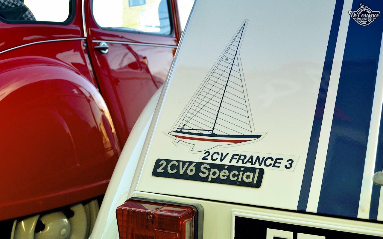 Citroen 2CV... Bleu blanc rouge ! 40