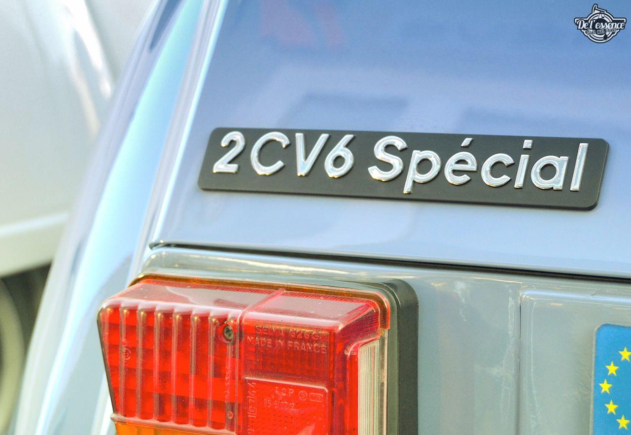 Citroen 2CV... Bleu blanc rouge ! 38