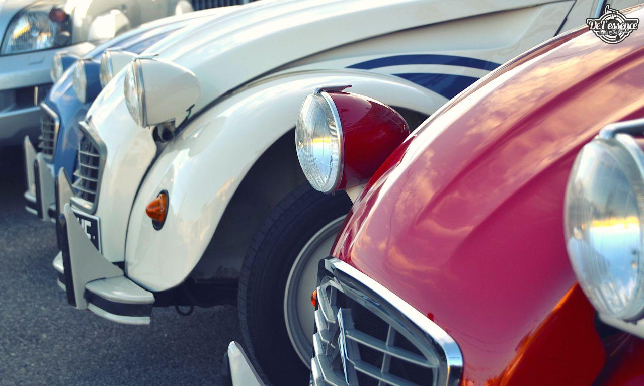 Citroen 2CV... Bleu blanc rouge ! 45