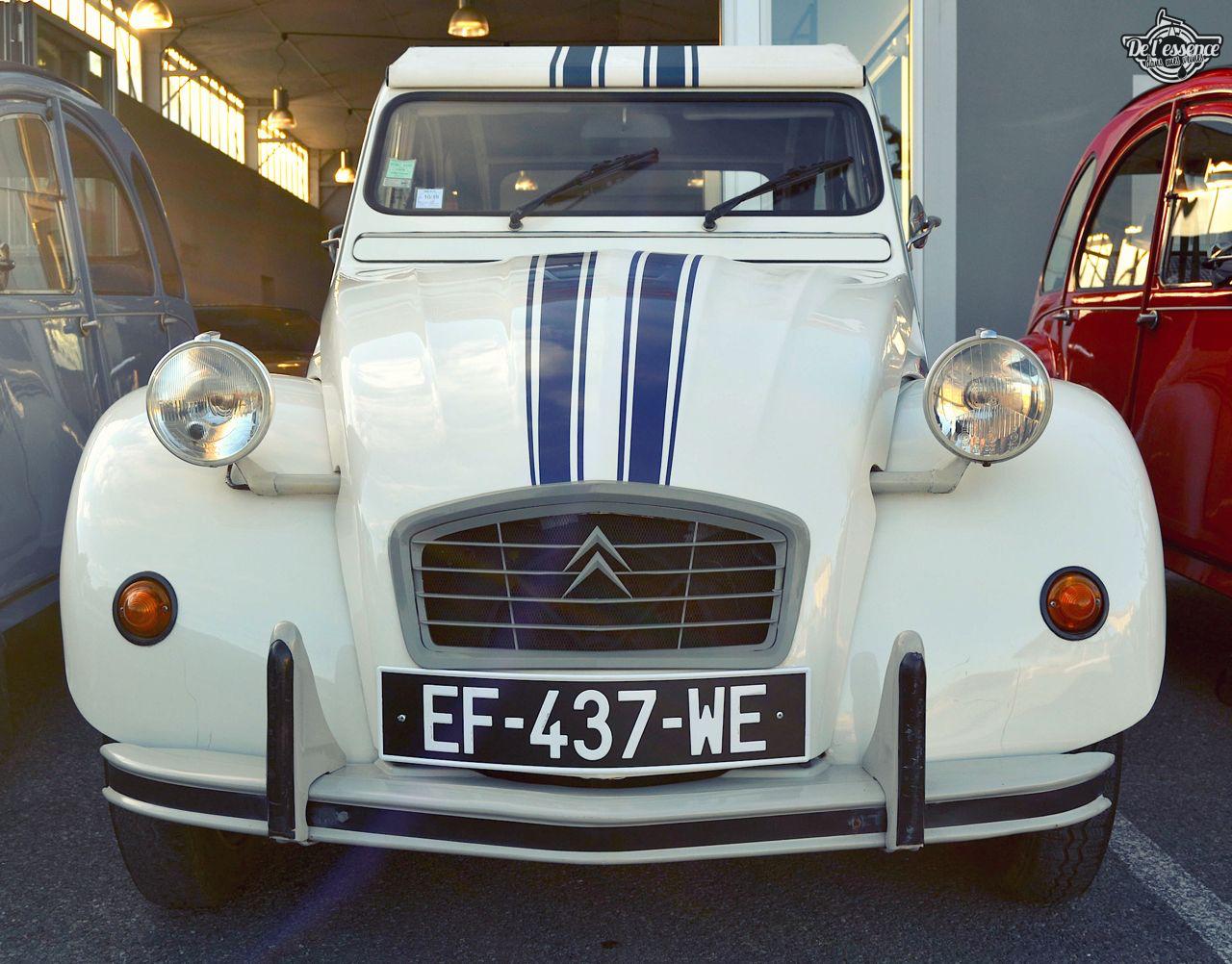 Citroen 2CV... Bleu blanc rouge ! 34
