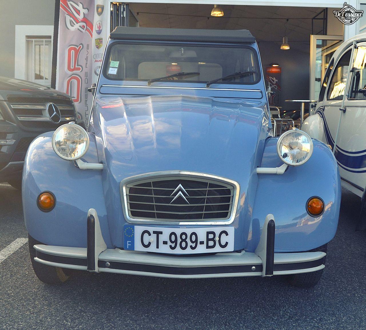 Citroen 2CV... Bleu blanc rouge ! 41