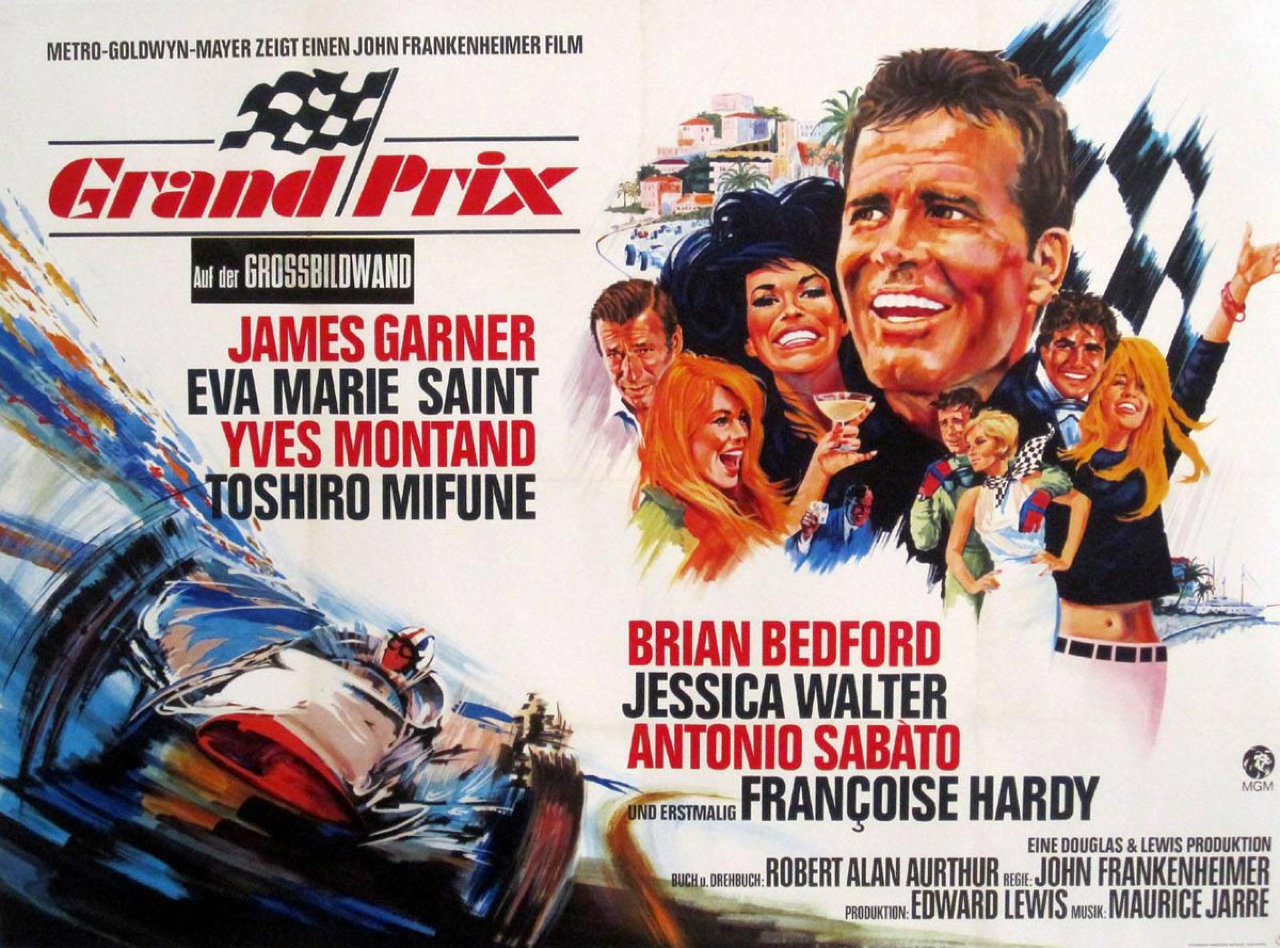 """""""Grand Prix"""" - Un onboard de Zandvoort en 66... 2"""