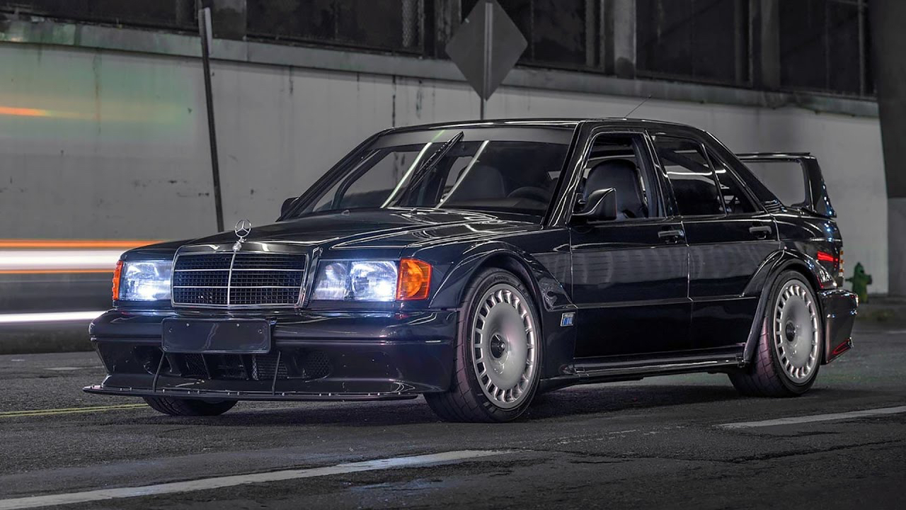Mercedes 190E 2.5 16 Evo II... la DTM des routes ! 6