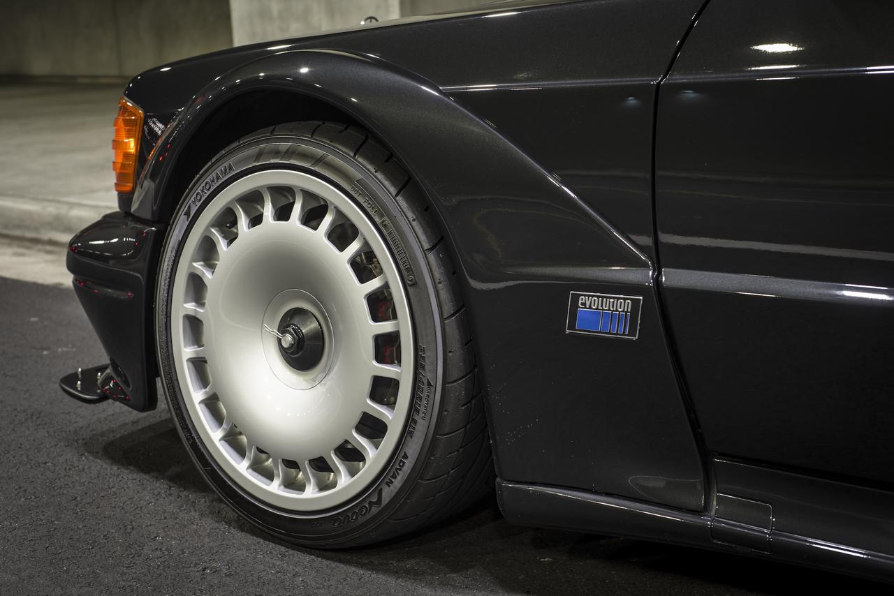 Mercedes 190E 2.5 16 Evo II... la DTM des routes ! 2