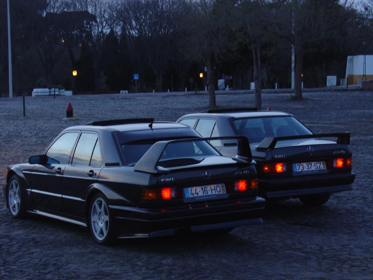 Mercedes 190E 2.5 16 Evo II... la DTM des routes ! 1