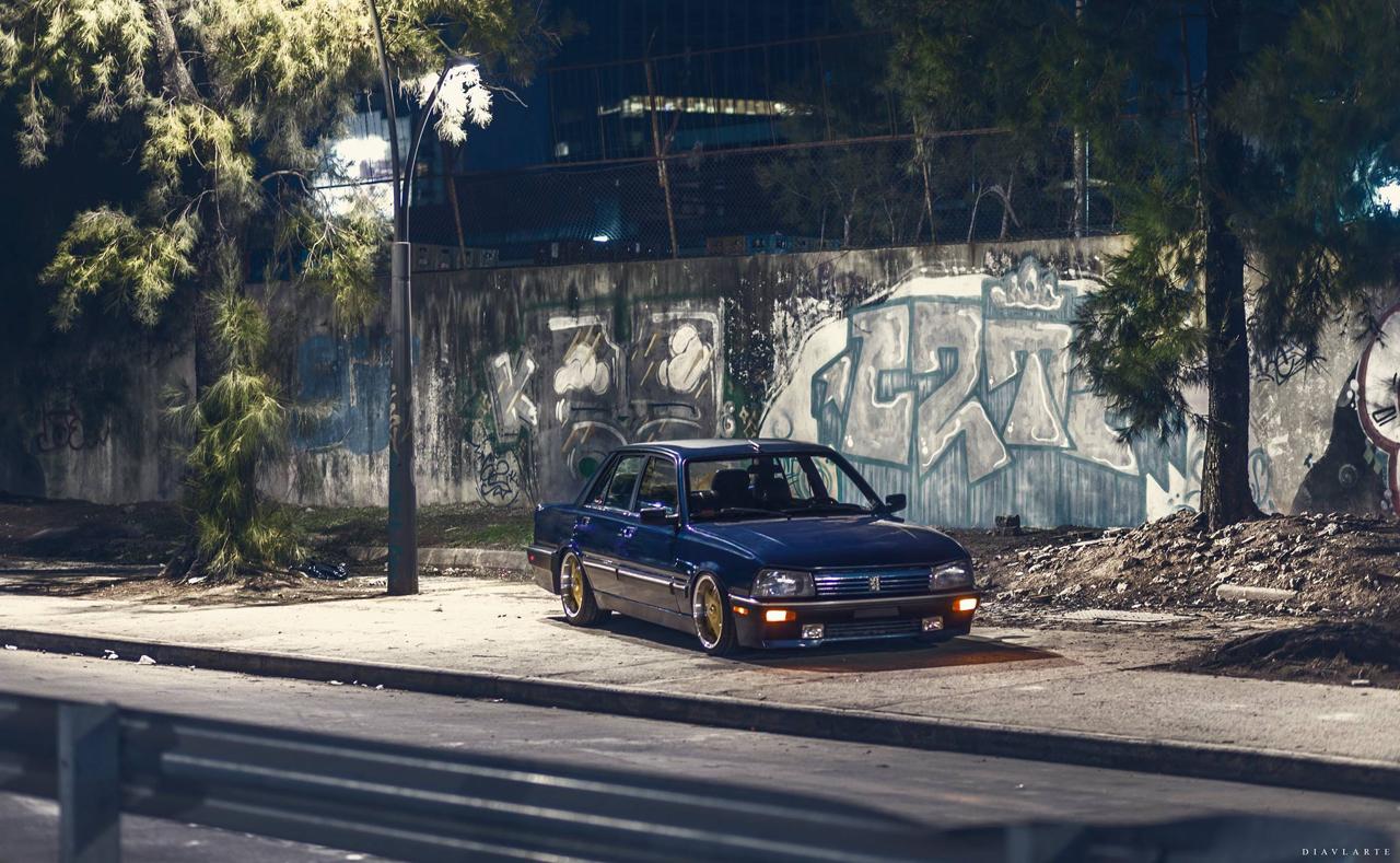 Slammed Peugeot 505 - En direct de Buenos Aires 29
