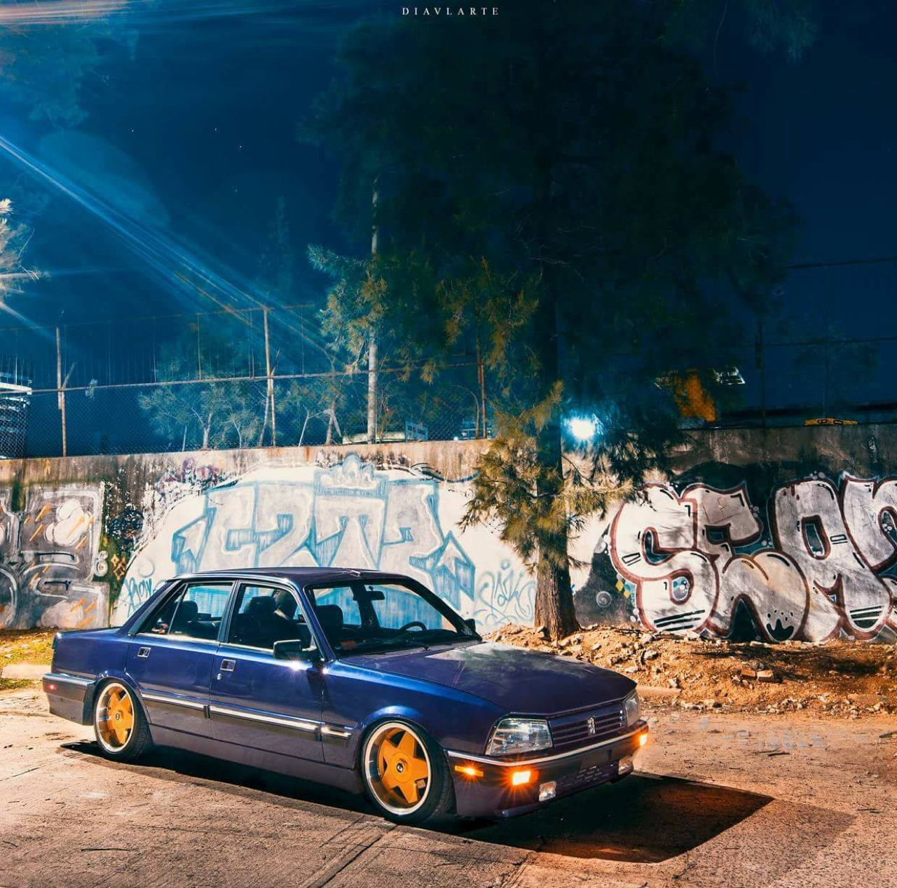 Slammed Peugeot 505 - En direct de Buenos Aires 27