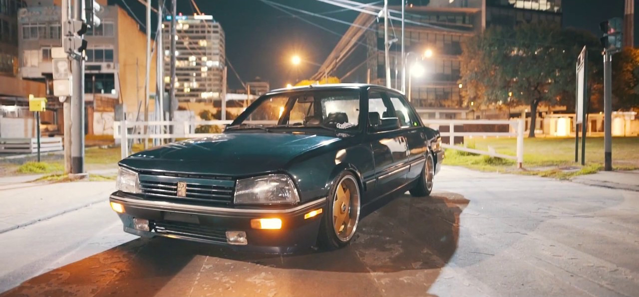 Slammed Peugeot 505 - En direct de Buenos Aires 21