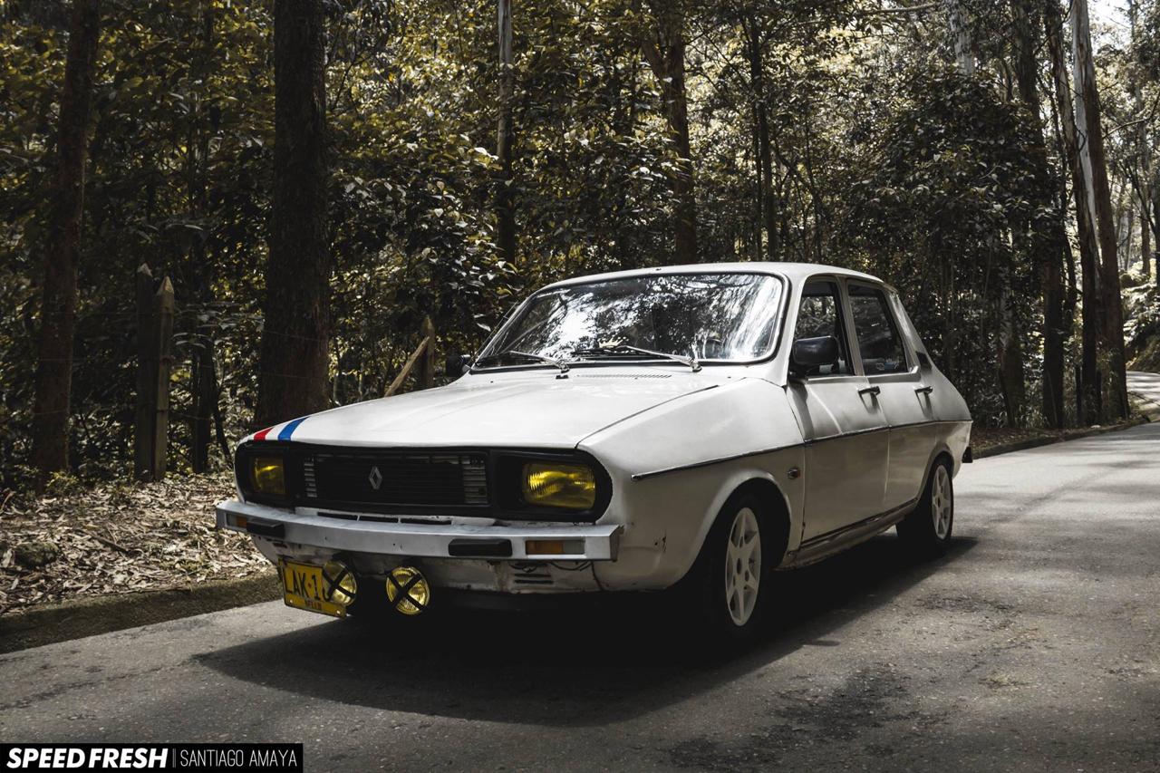 Juste une Renault 12 qui nous vient de Bogota ! 32