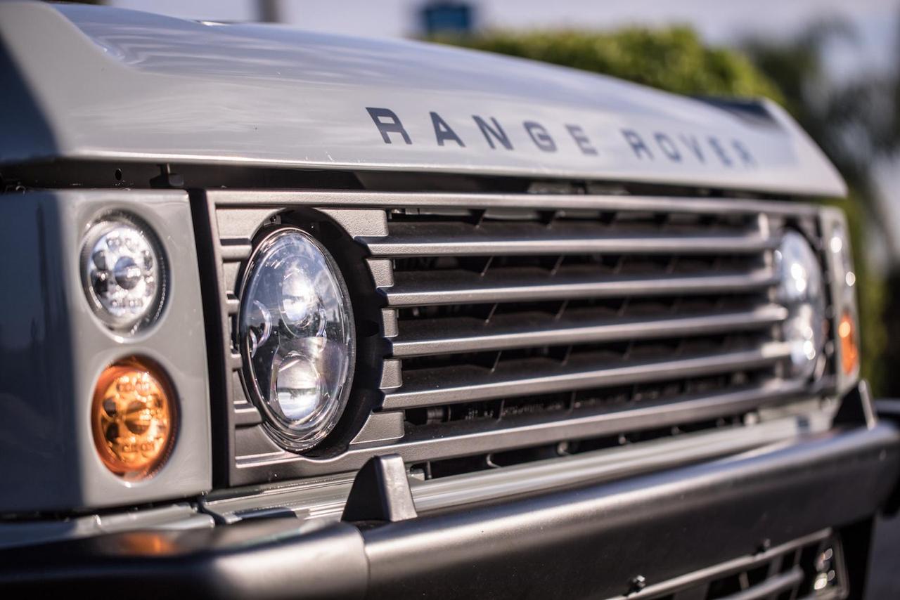 """Range Rover Classic restomod en LS3 : """"Project Alpha"""" 23"""