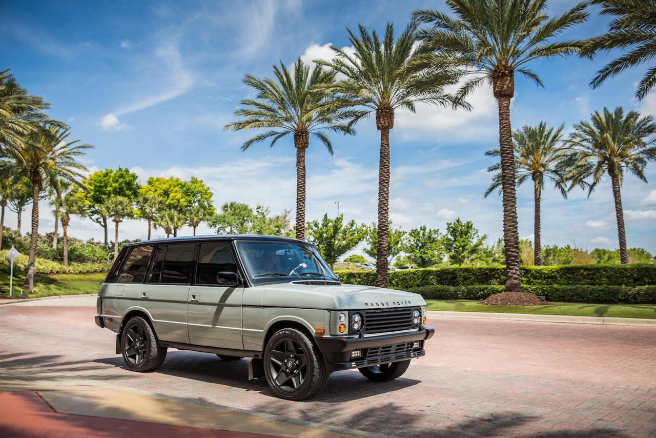 """Range Rover Classic restomod en LS3 : """"Project Alpha"""" 27"""