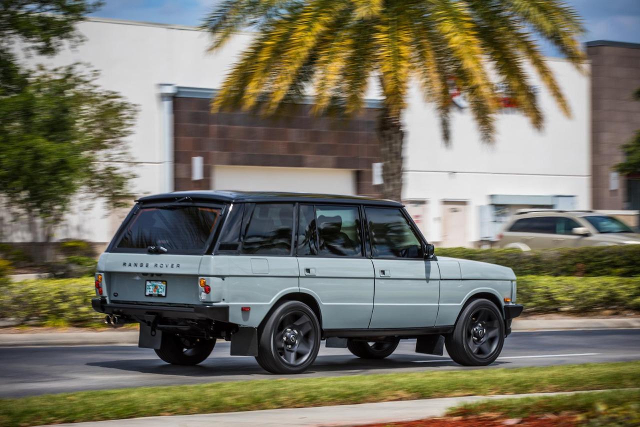 """Range Rover Classic restomod en LS3 : """"Project Alpha"""" 29"""