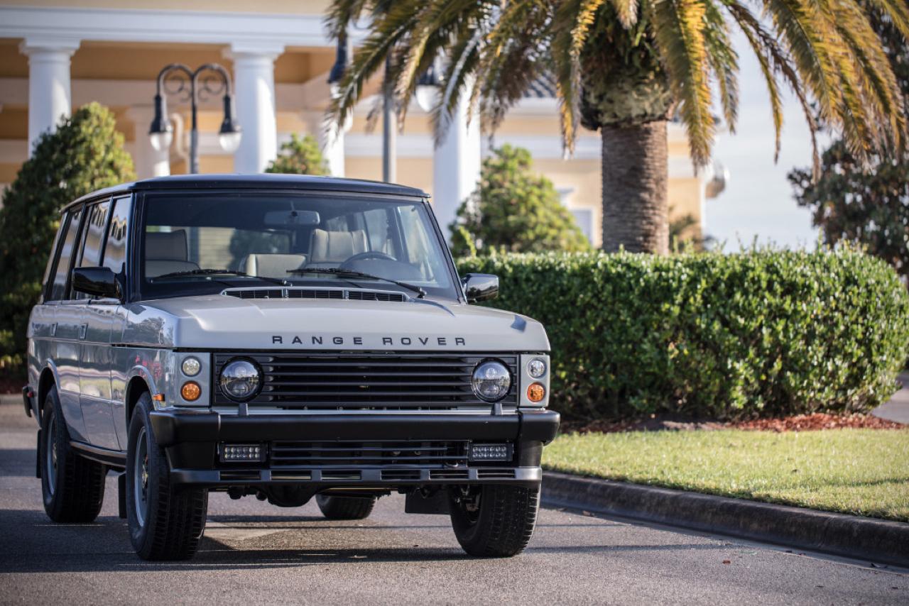 """Range Rover Classic restomod en LS3 : """"Project Alpha"""" 31"""