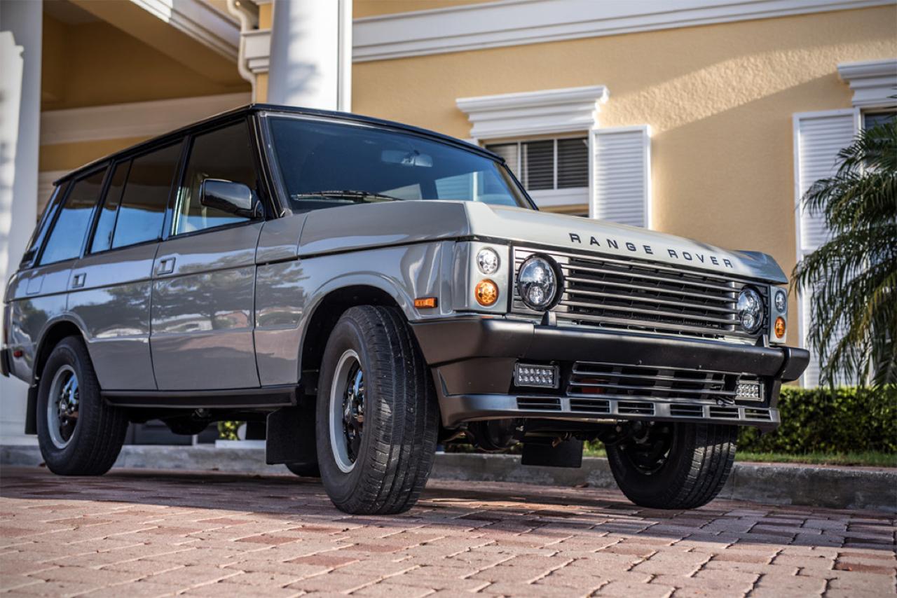 """Range Rover Classic restomod en LS3 : """"Project Alpha"""" 32"""