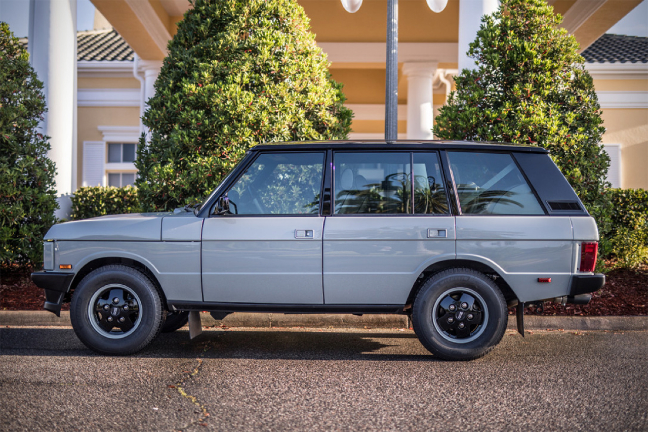 """Range Rover Classic restomod en LS3 : """"Project Alpha"""" 25"""